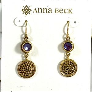 Anna Beck Doublet Double Drop earrings
